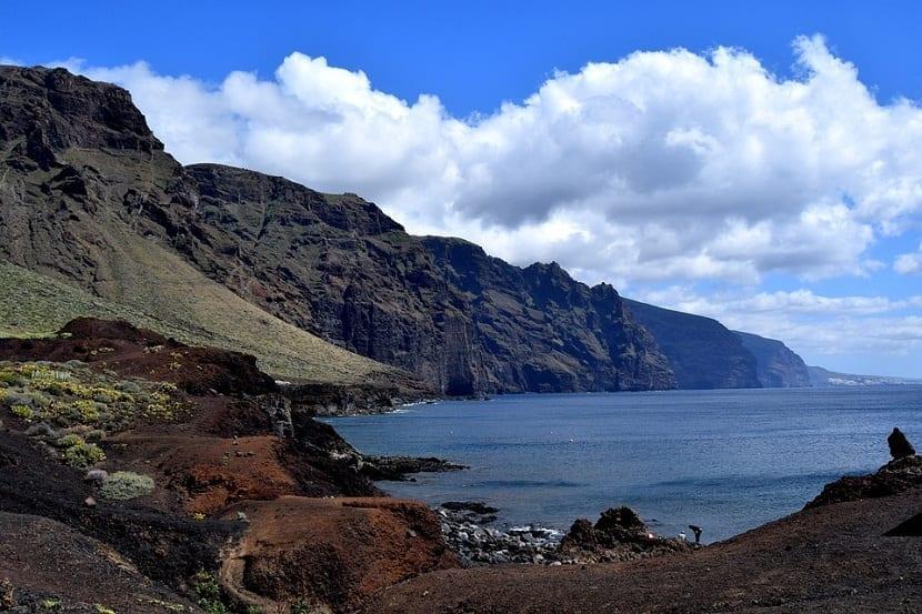 Acantilados Los Gigantes en Tenerife