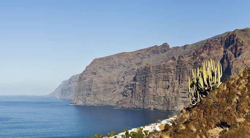 Los Gigantes en Tenerife Origen