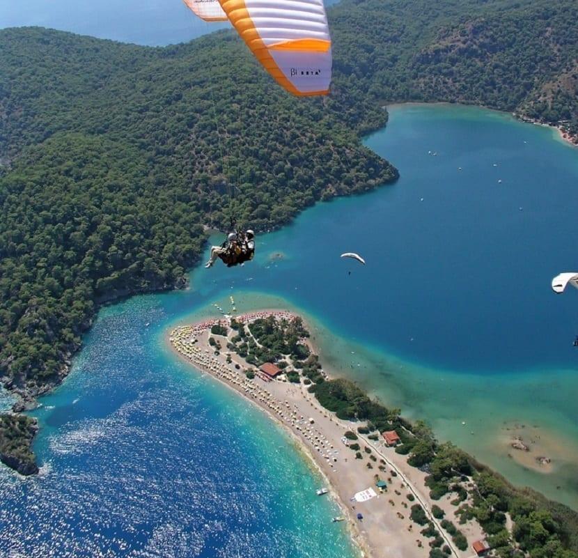 Playa Oludeniz en Turquía