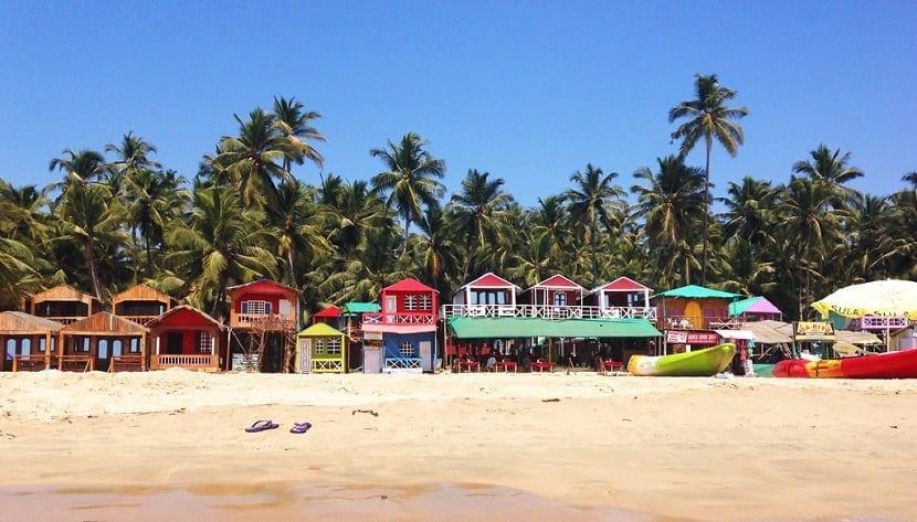 Las mejores playas del mundo Palolem en India