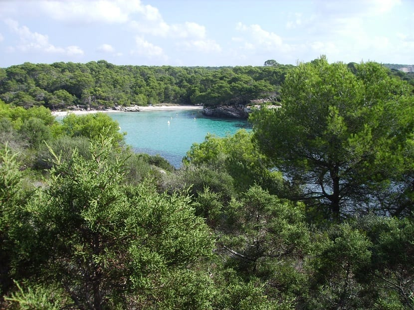 Vistas desde Cala Turqueta