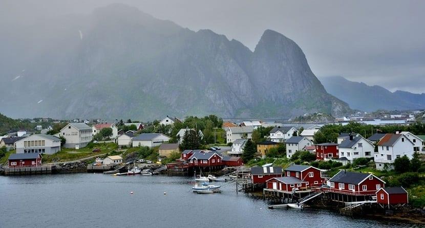 Islas Lofoten pueblos de pescadores