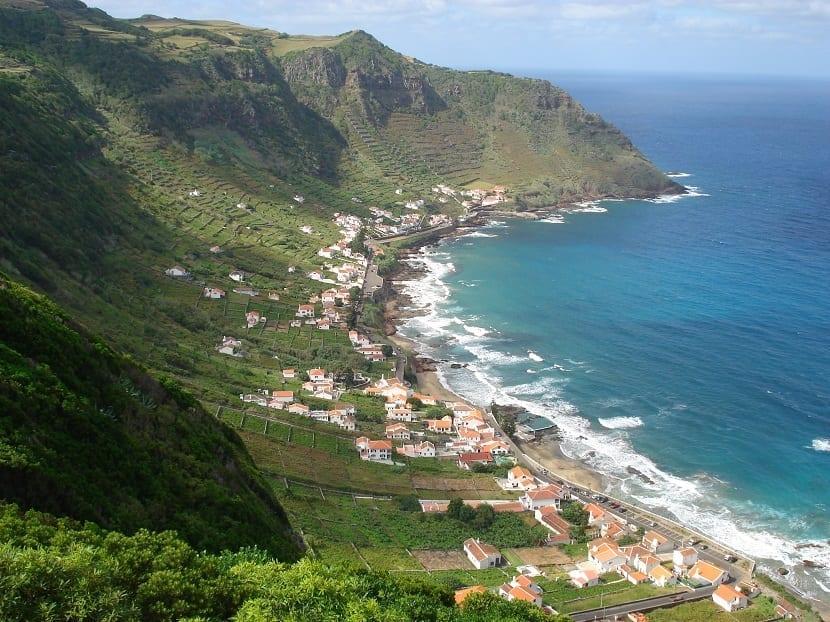 Playa Santa María Azores