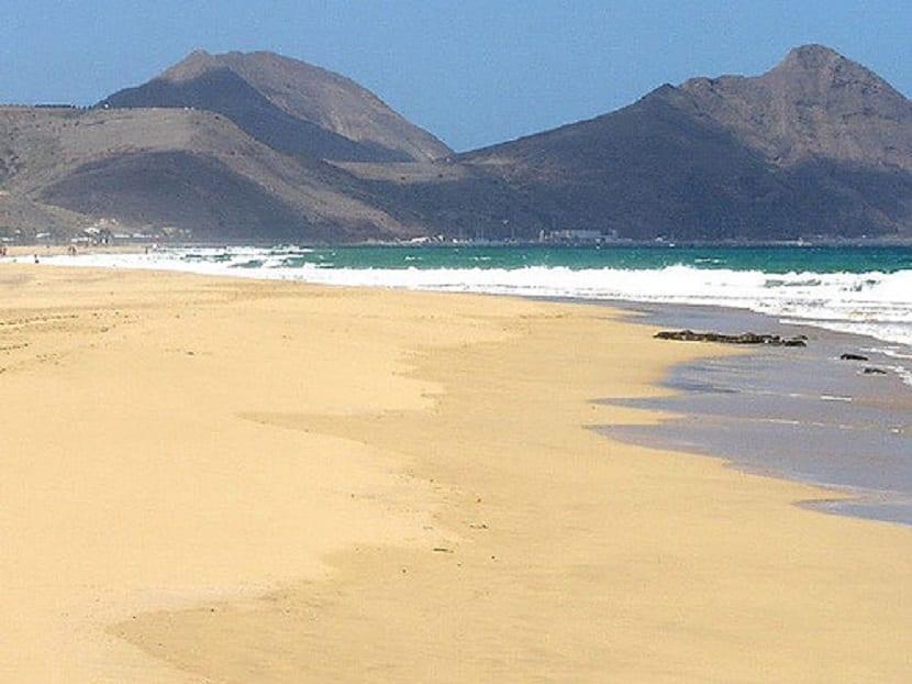 Playa Porto Santo Portugal