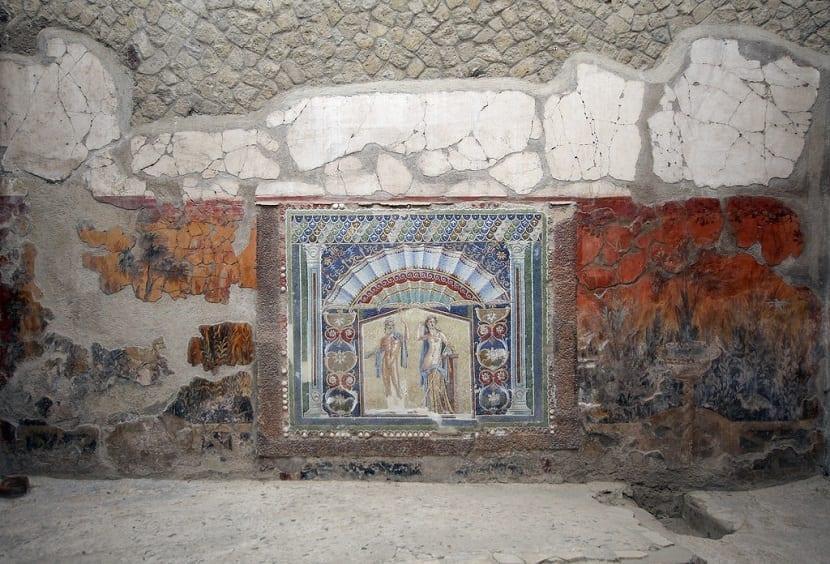 Mosaicos casas Herculano