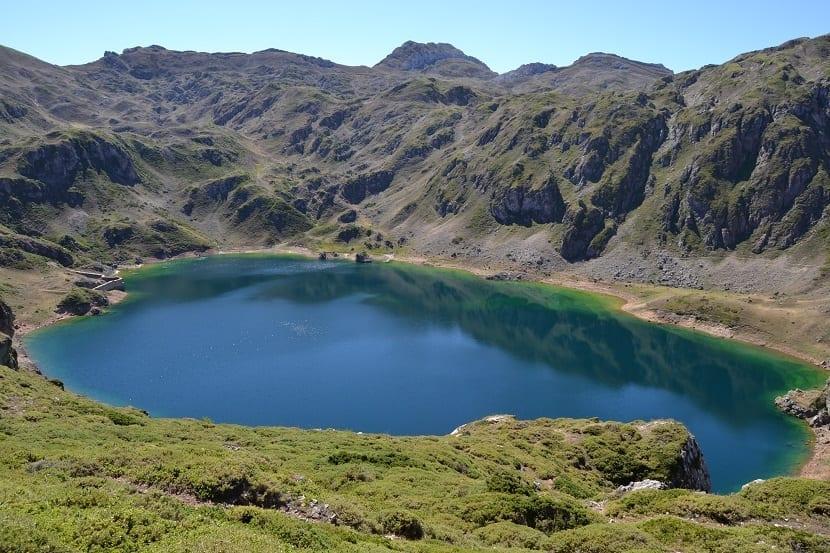 Lago Calabazosa Asturias