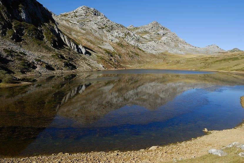 Lago Cerveriz Asturias