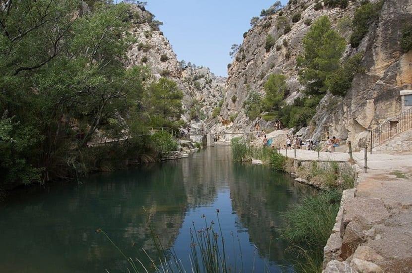 Piscina Font Calda en Tarragona