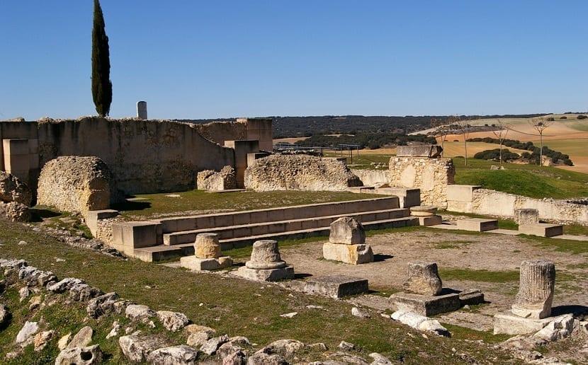 Zona basílica Segóbriga