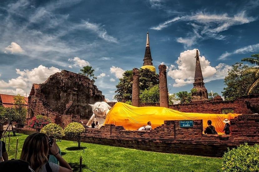 Templos Ayutthaya