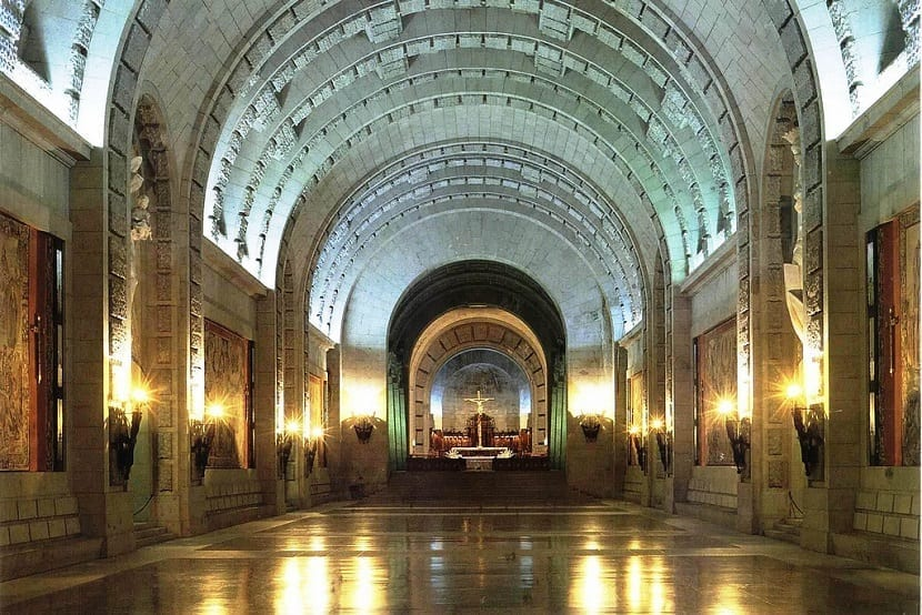 Interior Valle de los Caídos