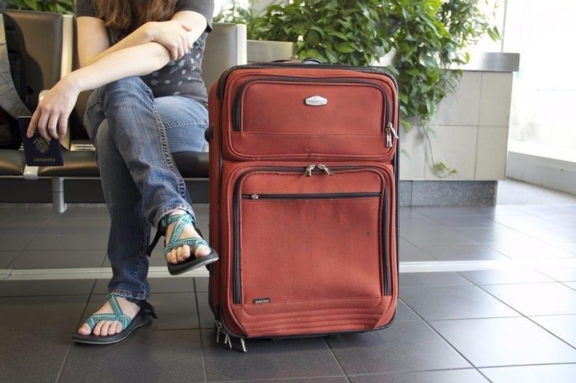 Beneficios de no viajar con maletas