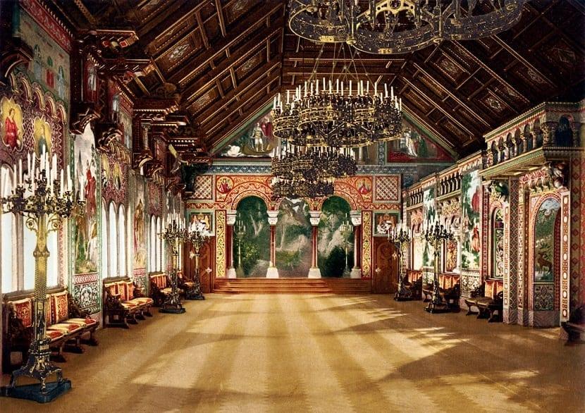Interior Castillo Neuschwanstein