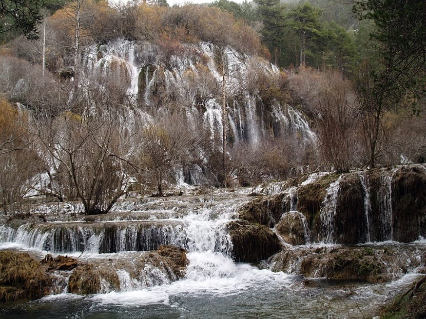 Río Cuervo en Cuenca