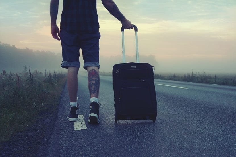 Ventajas de viajar sin maletas