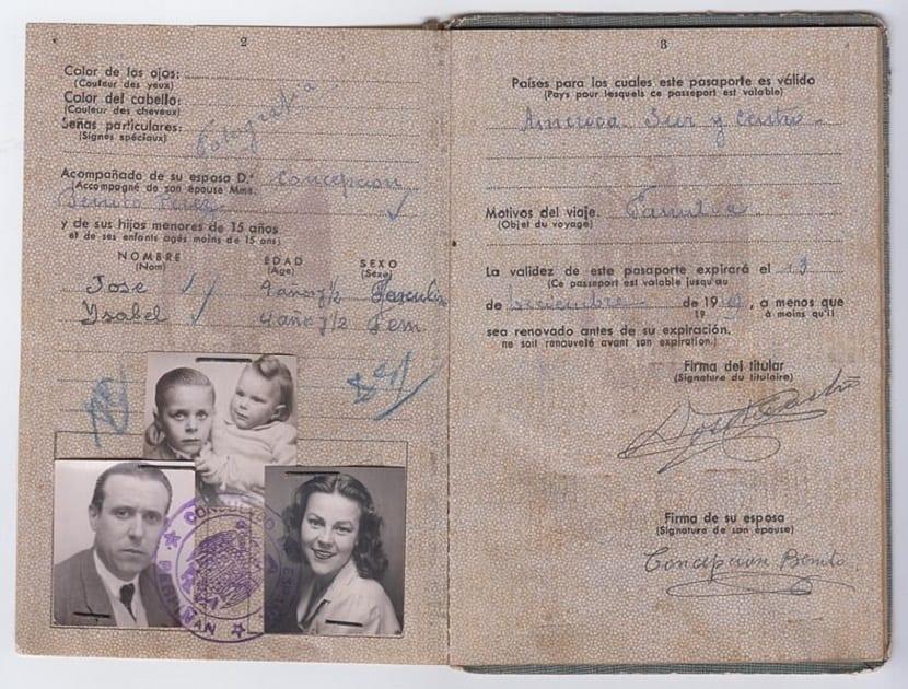 Documentos para renovar el pasaporte