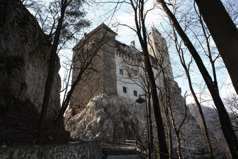 Entrada al castillo de Bran