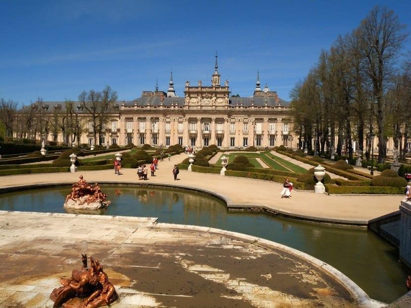 Fuentes del Real Palacio de Segovia