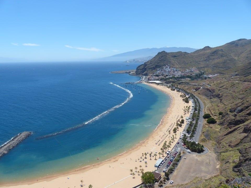 Playas de Tenerife : Las Teresitas