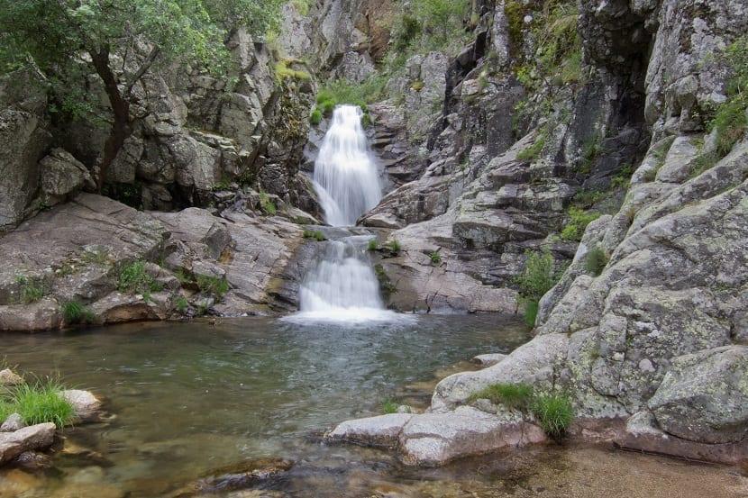 Cascada del Purgatorio Madrid