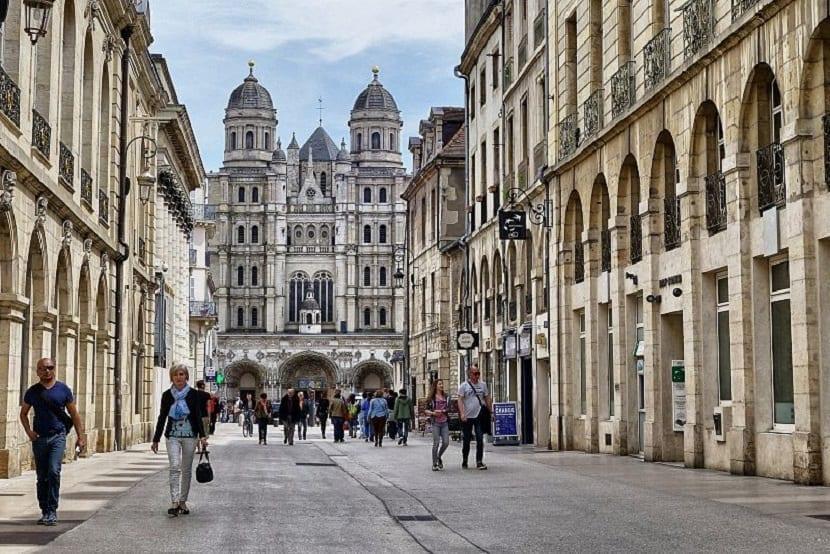 Noviembre en Dijon Francia