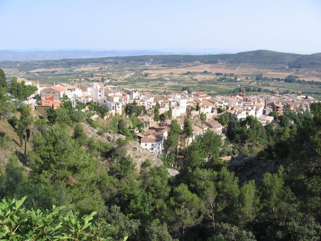 Pueblo de Agres en Alicante