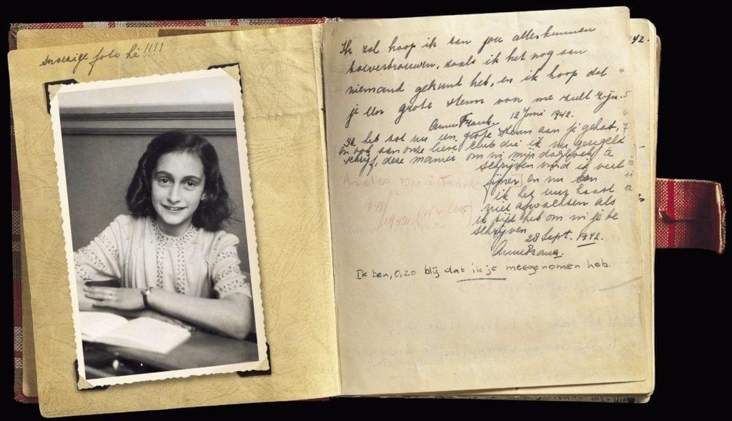 Extracto del diario de Ana Frank