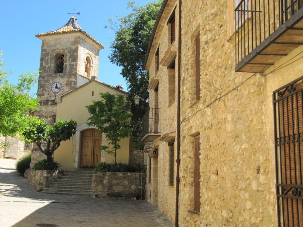 Pueblo de Turballos en Alicante