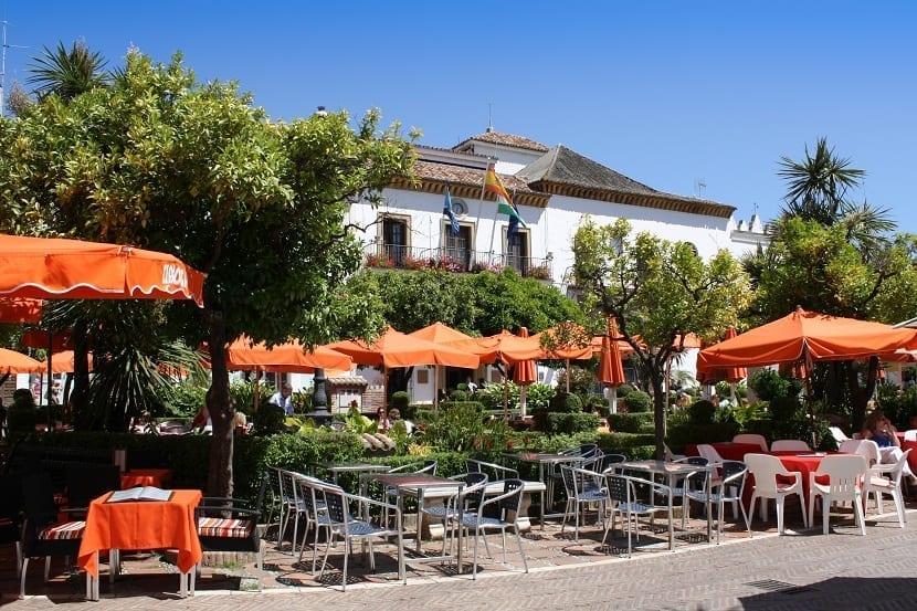 Patio de los naranjos Marbella
