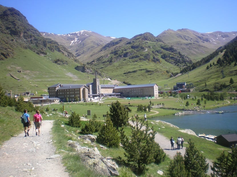 El valle de Nuria