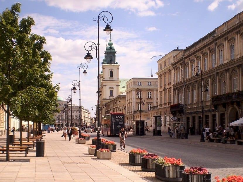 Calle de Varsovia