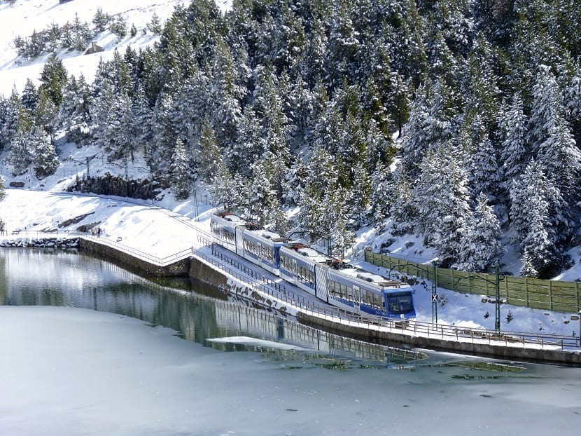 Cremallera valle de Nuria