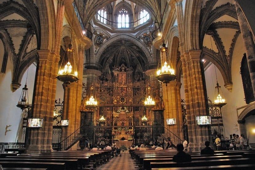 Interior Monasterio de Guadalupe