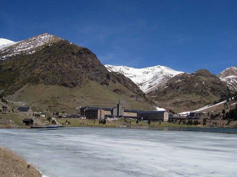 Valle de Nuria invierno