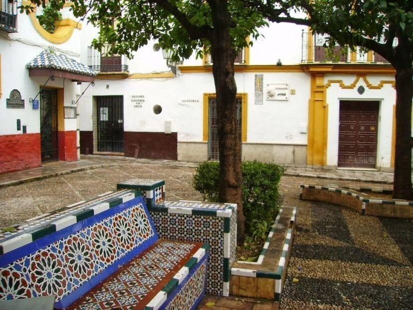 Plaza de Santa Marta en Sevilla