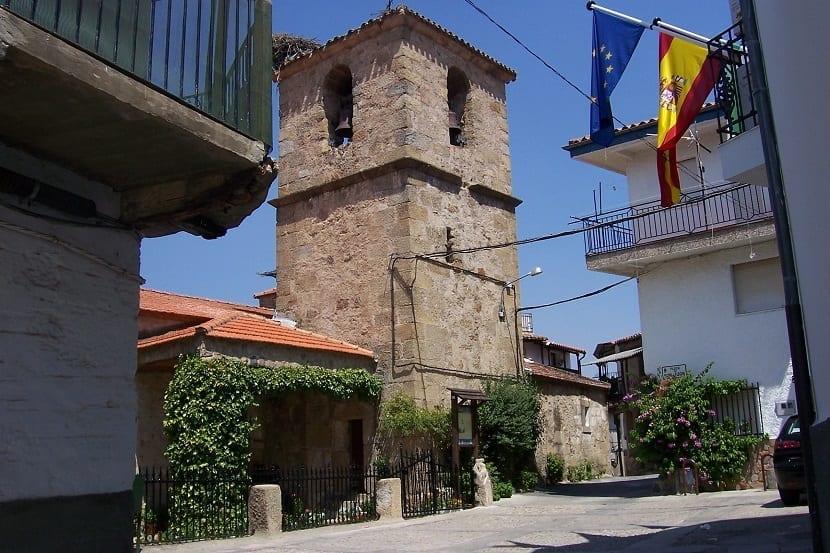 Iglesia Casas del Castañar