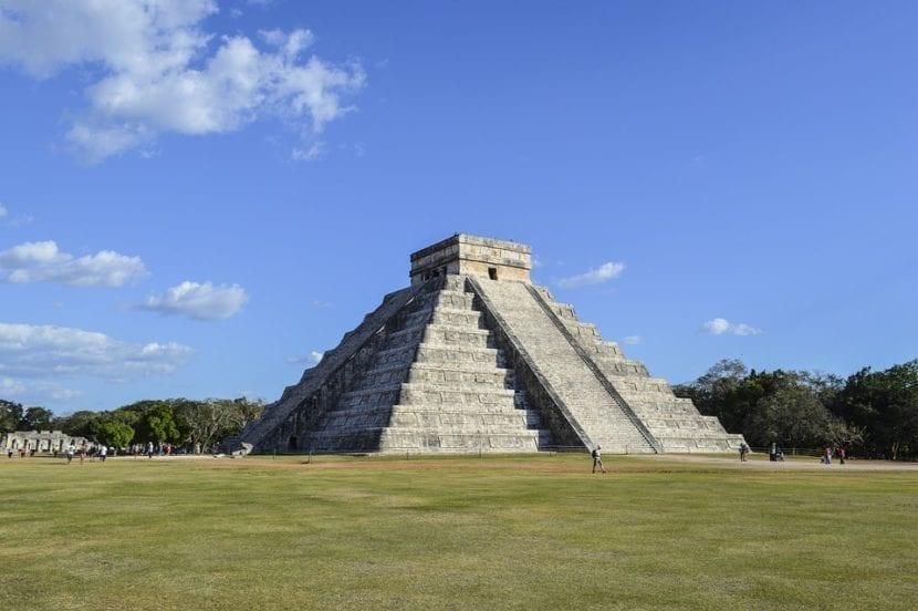 Chichen Itza en Mexico
