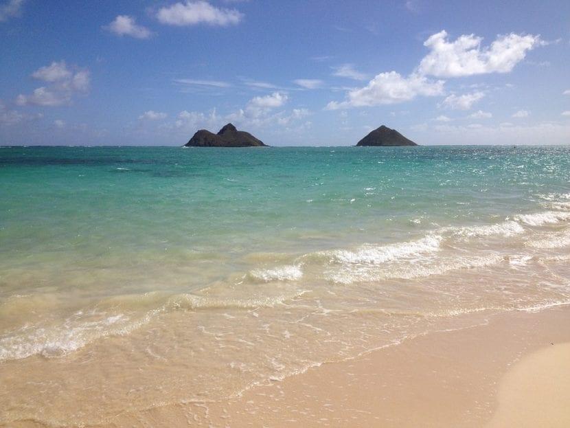 Lanikai Beach en Hawai