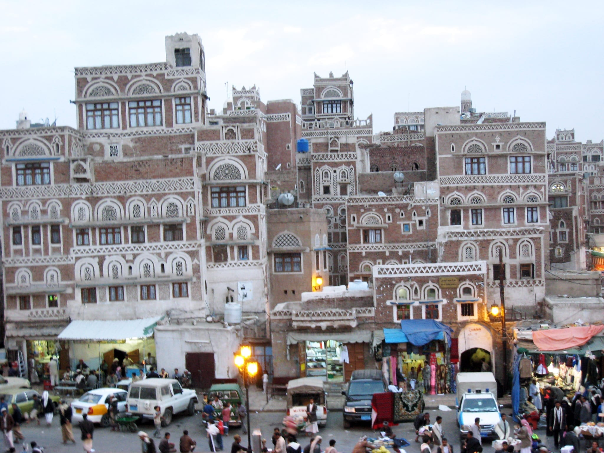 Saná en Yemen