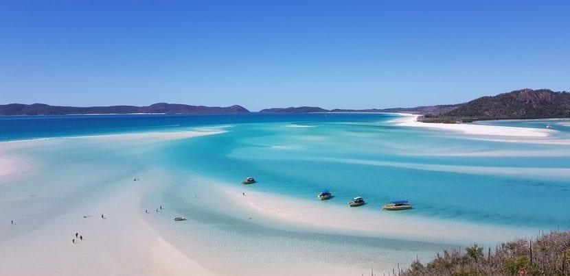 Whitehaven Beach en Australia