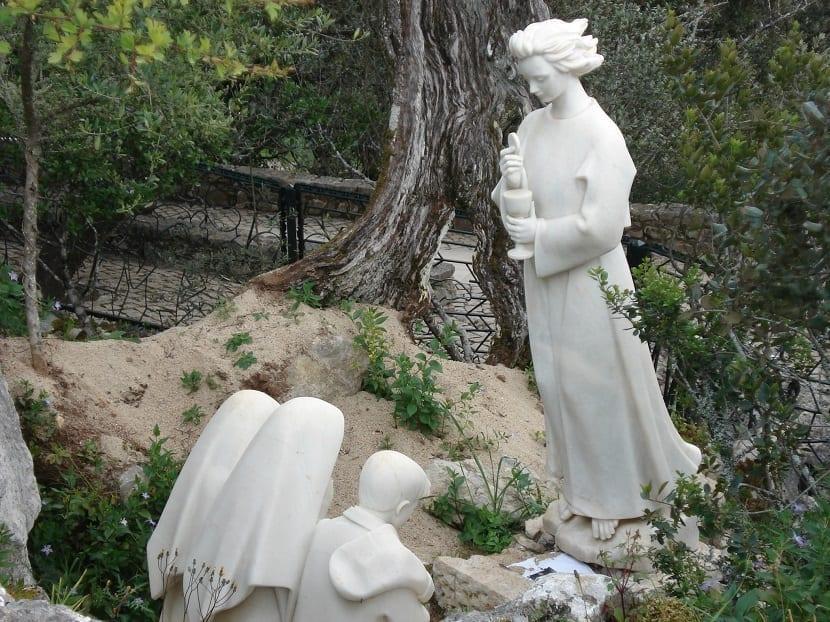 Estatua del ángel de la paz