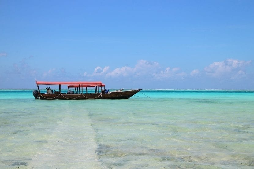 Matemwe Beach en Tanzania