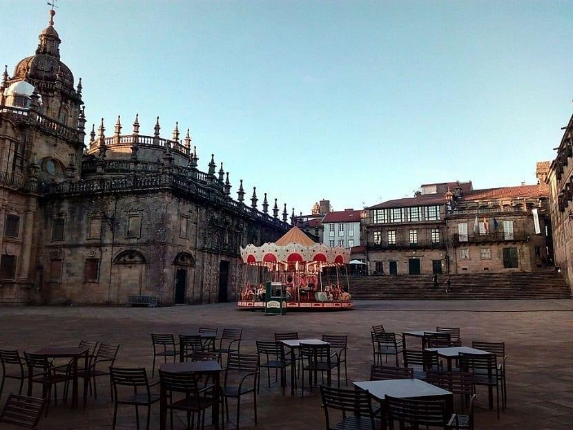 Plaza de la Quintana Santiago de Compostela