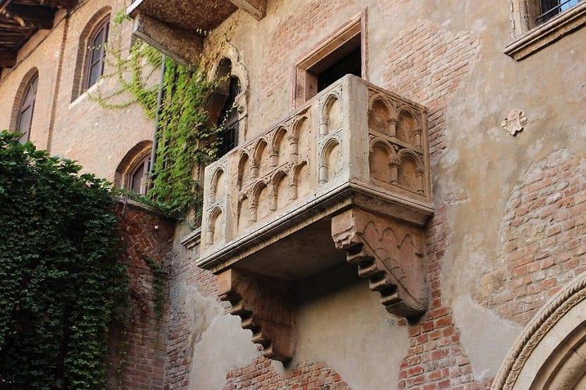 Balcón de Julieta Verona