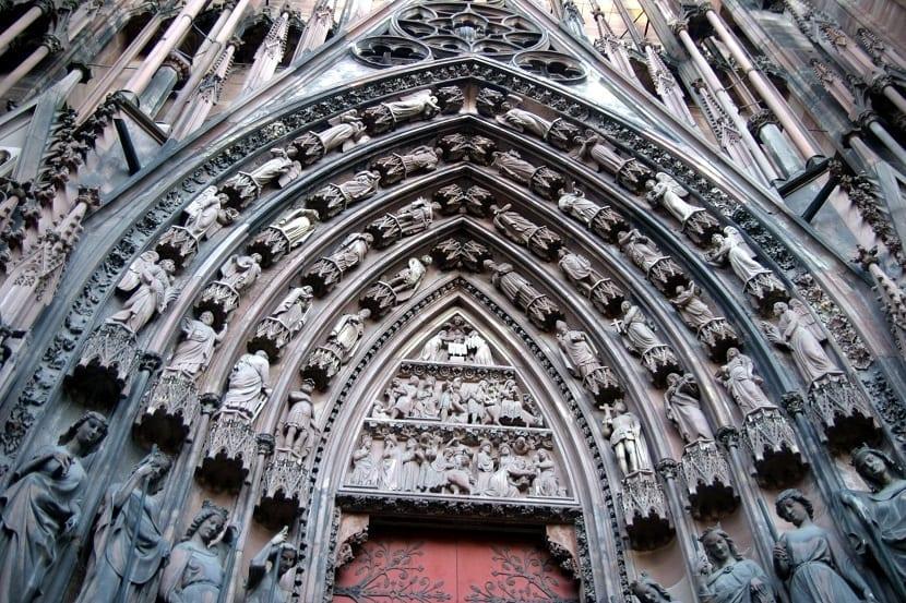 Arquitectura catedral de Estrasburgo