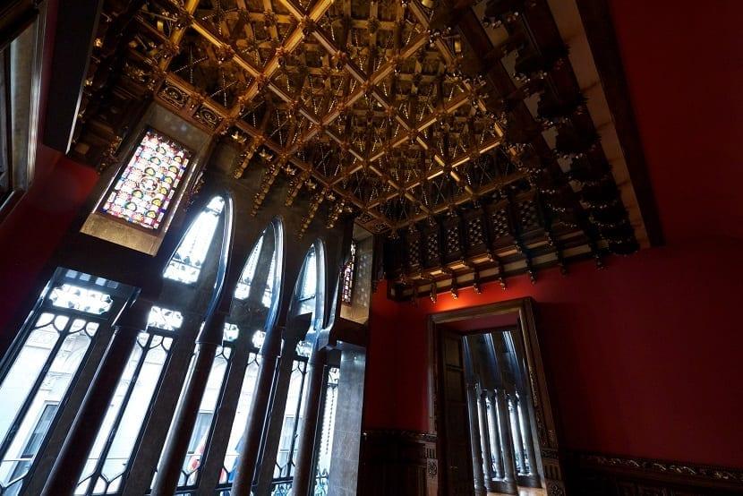 Interior del Palacio Güell