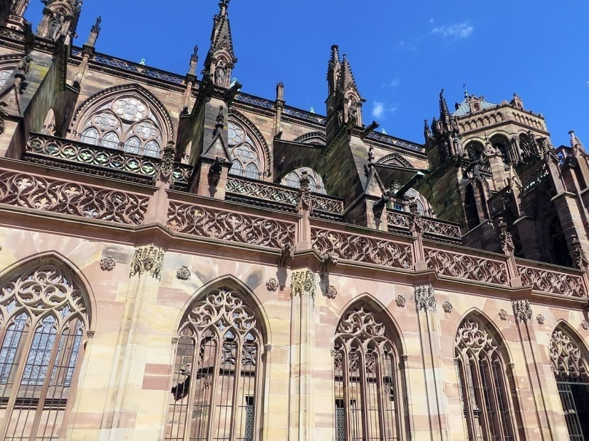 Partes de la catedral de Estrasburgo