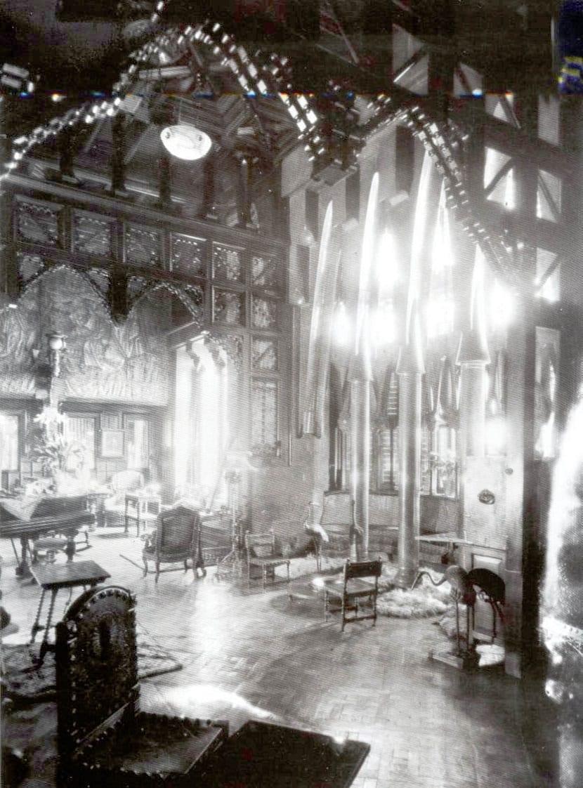 Salas del Palacio Güell