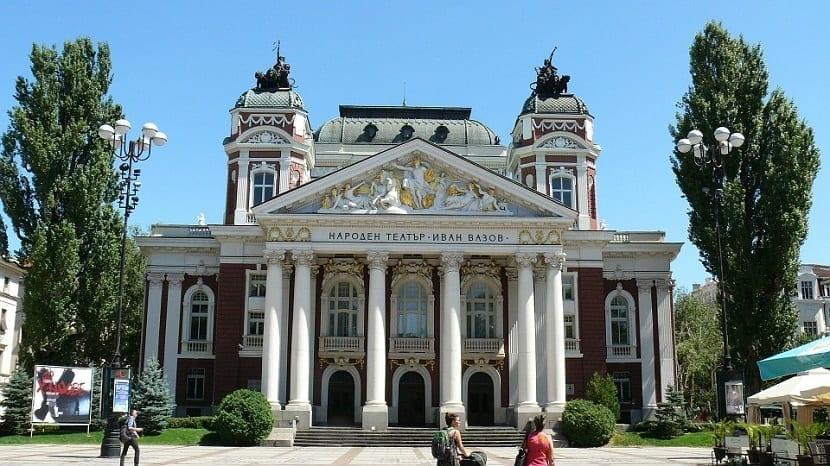 Teatro de Sofía en Bulgaria