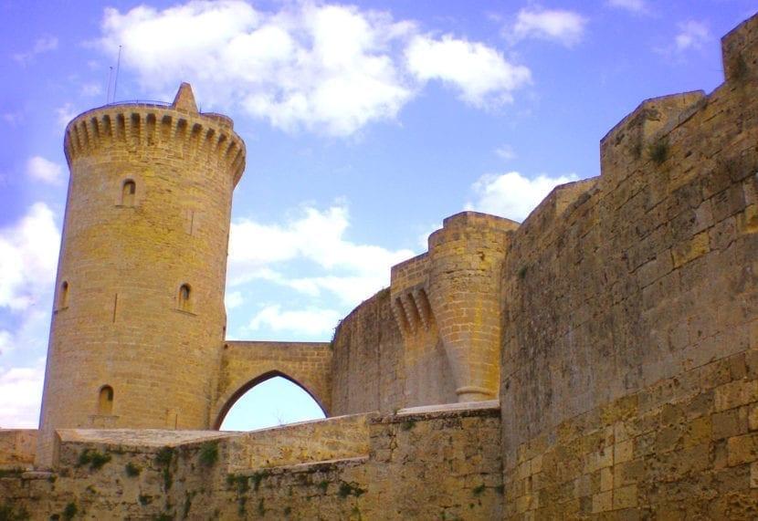 Vista del Castillo de Bellver